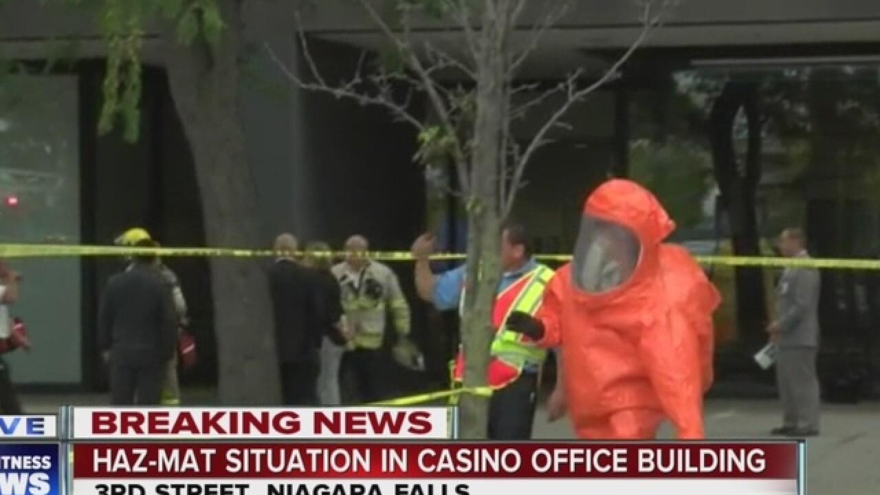 Seneca Office Building Evacuated