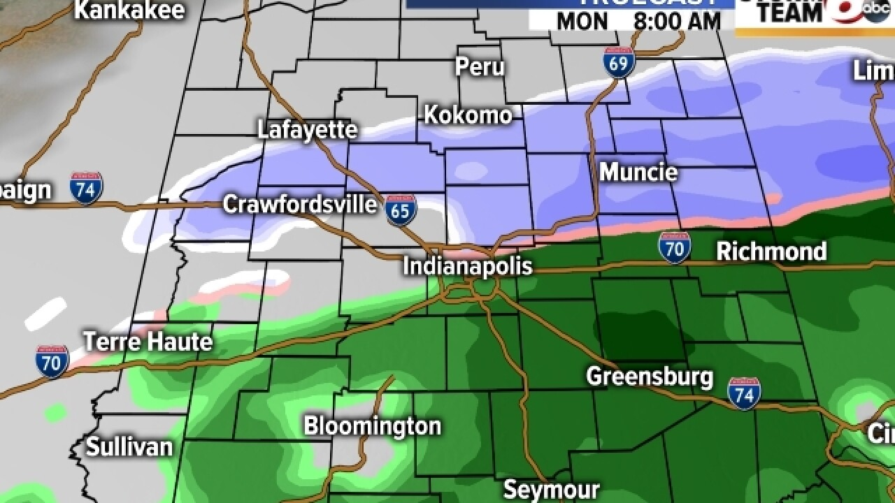 TIMELINE: When will rain/snow mix end near you?