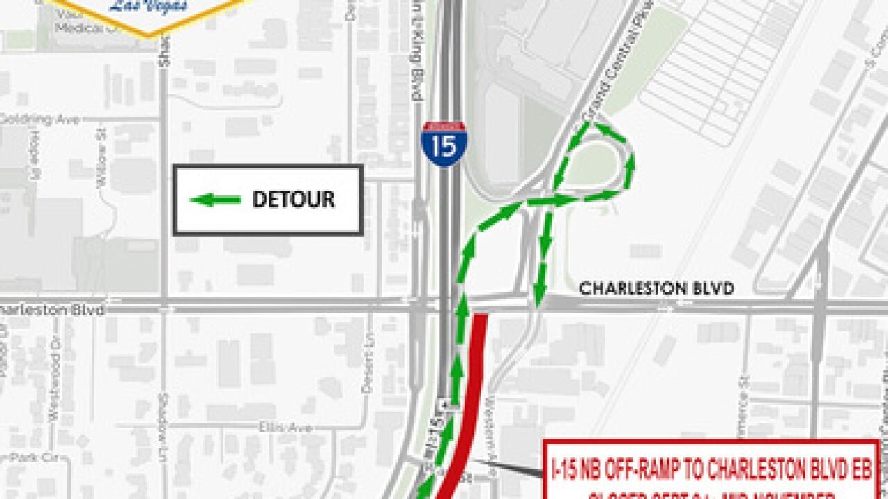 Traffic: Offramp closures beginning September 9