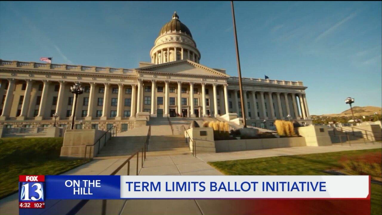 Ballot initiative proposed to reinstitute political term limits inUtah