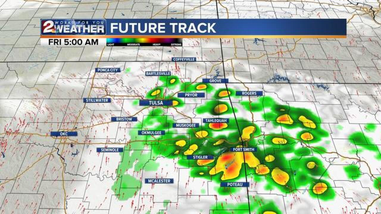 BLOG: Big weather changes for Friday & Saturday