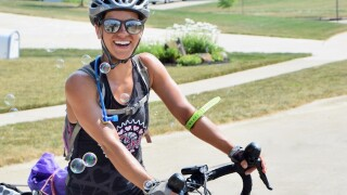 Woman spent 8 weeks in the COVID ICU in New York City then biked 3,500 miles across the country