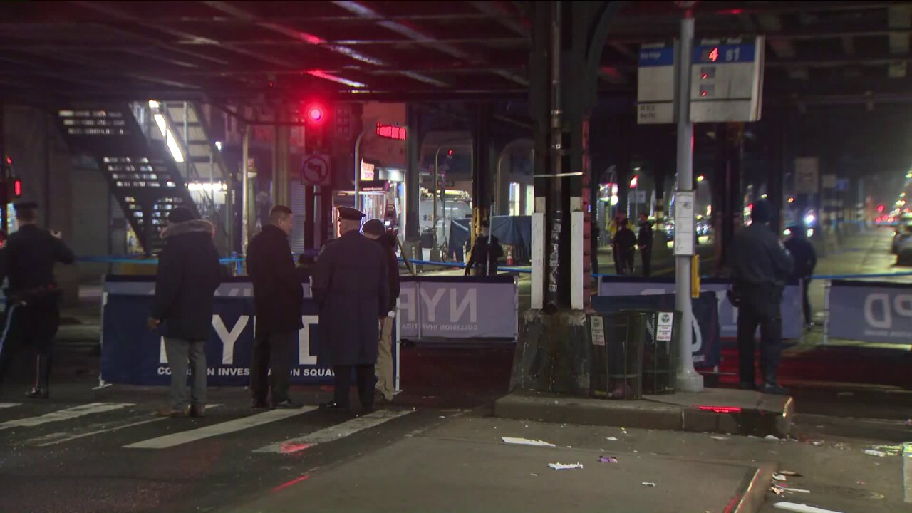 Pedestrian fatally struck by sanitation truck in Brooklyn