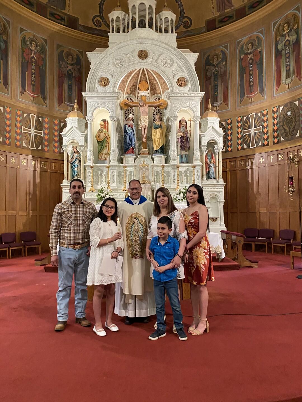 Jakelin Adalco and family