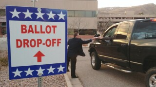 Ballot Drop Off El Paso County