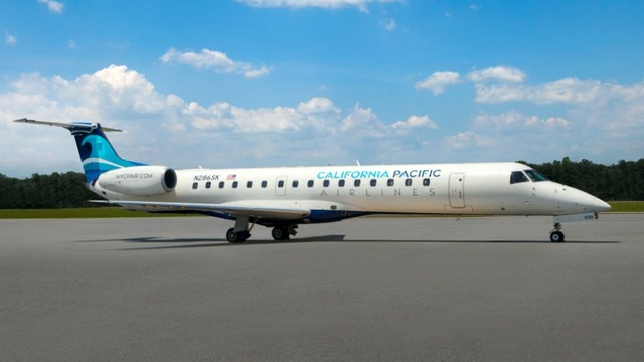 California Pacific Airlines adds flights from Carlsbad, California to Phoenix