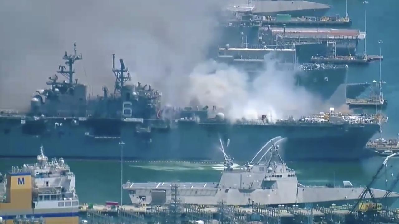 USS Bonhomme Richard fire Naval Base San Diego.png