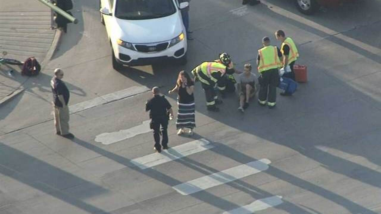 Teen bicyclist hit by car at 106th and Huron in Northglenn