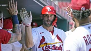 Paul Goldschmidt Tigers Cardinals Baseball