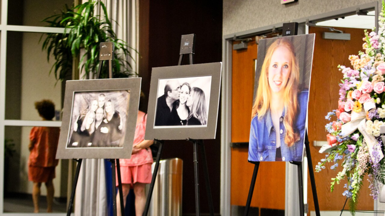 Surrounded by love: Visitation for Lauren Hill
