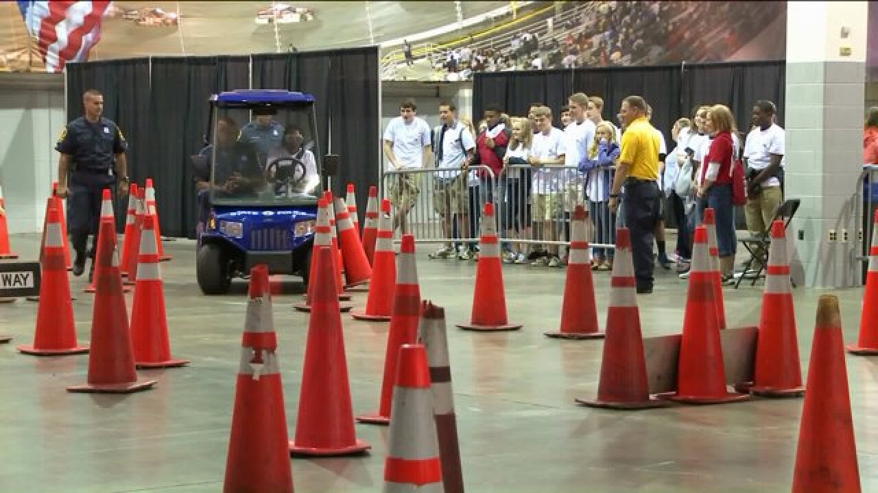 600 Hanover County Public School students participated in the 2015 AAA IDriveEvent