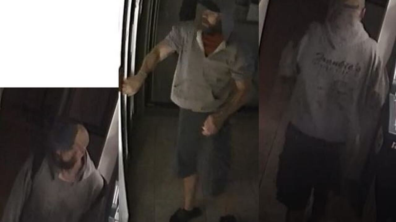 Suspect wanted for burglary of Marco Island convenience store