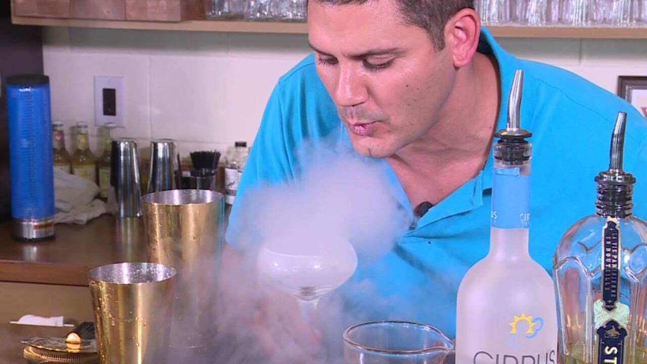 'The Oley Way:' Nationally recognized bartender stirs up his recipe for success