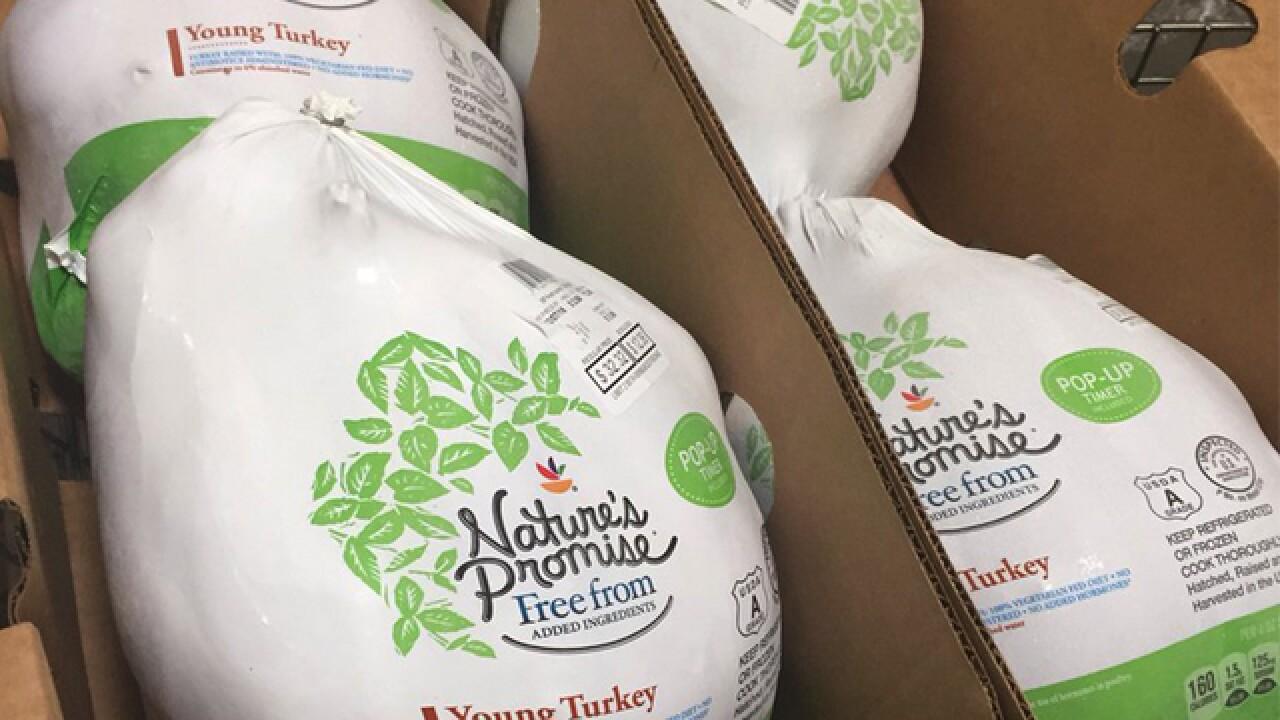 1,000 turkeys delivered to Maryland Food Bank