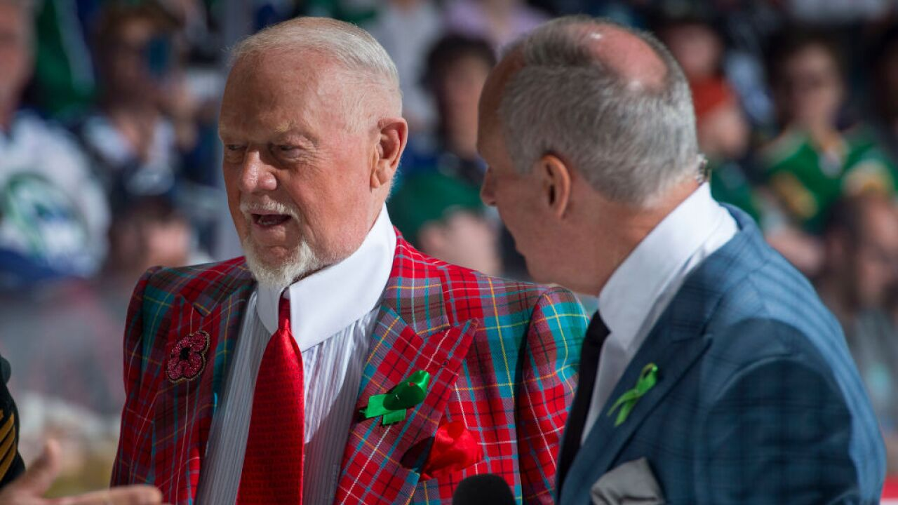Don Cherry Ron MacLean getty images