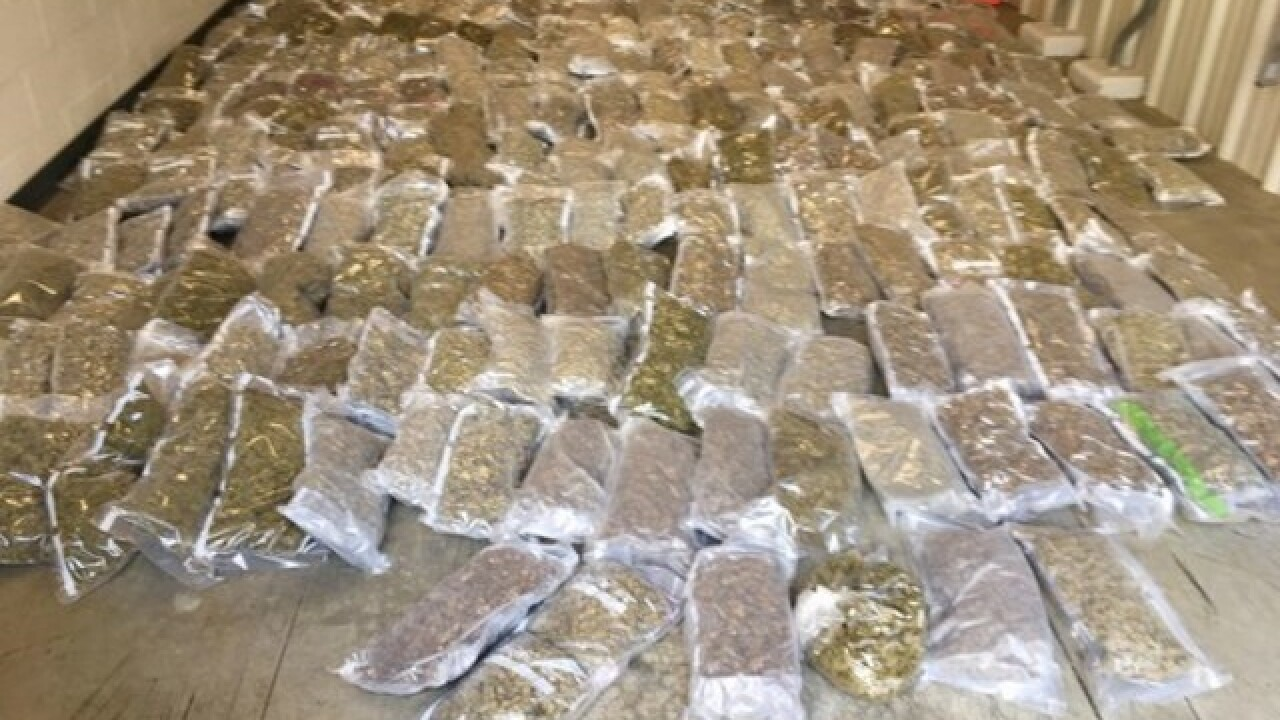 Troopers find $1M in marijuana stashed with lettuce during routine commercial vehicle inspection