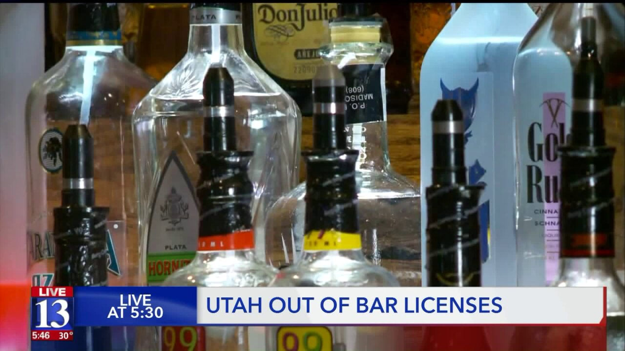 Utah is officially out of bar licenses, and there may be only 3 new ones in 2020