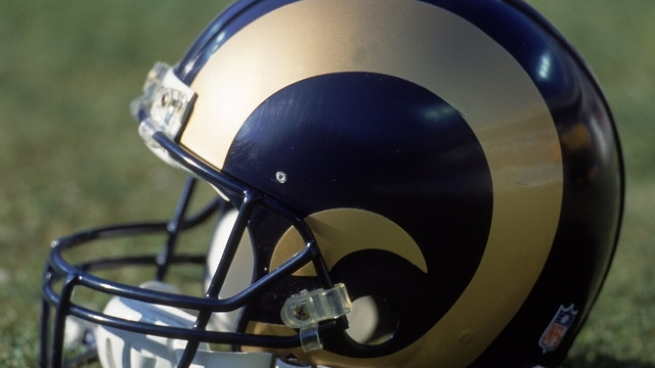 Rams trade with Titans to get No. 1 overall pick