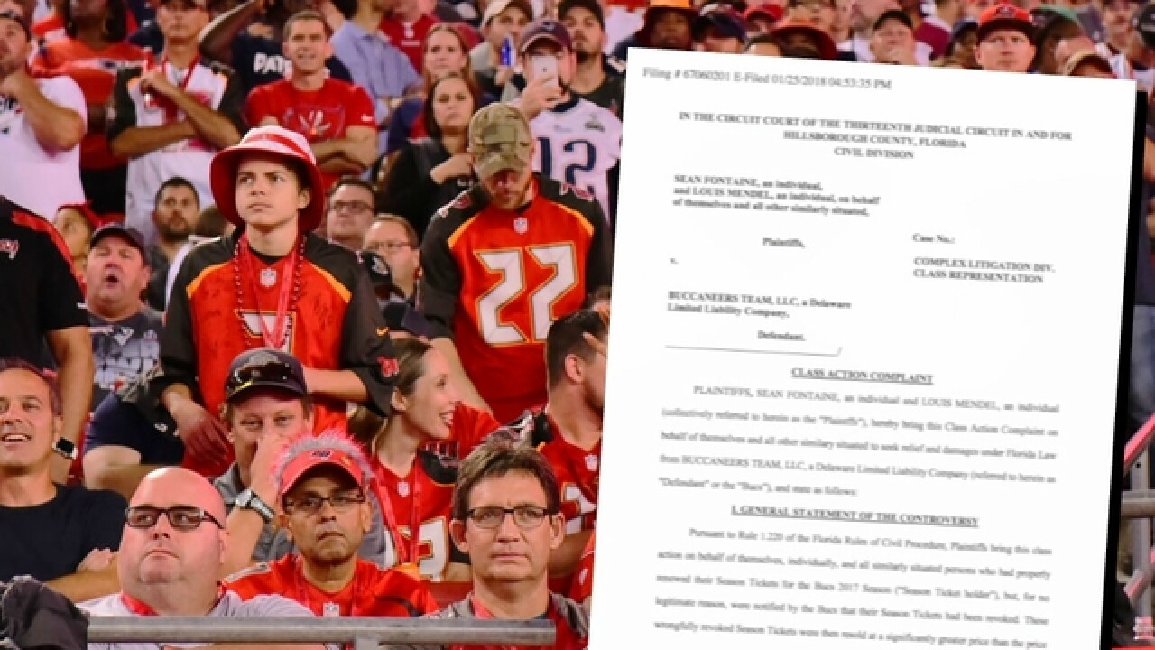 6beea484 Exclusive: Class action lawsuit filed against Tampa Bay Buccaneers ...