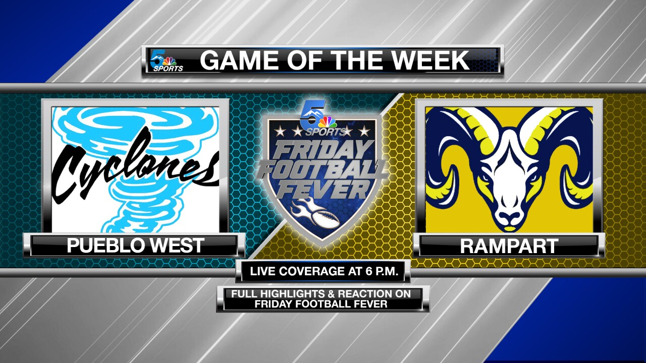 Friday Football Fever: Game of the Week - Pueblo West @ Rampart