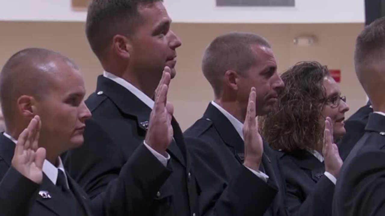 Firefighters Graduate From Nashville Training Academy