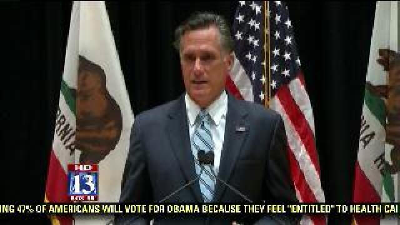Controversial private fund-raiser video shows candid Romney