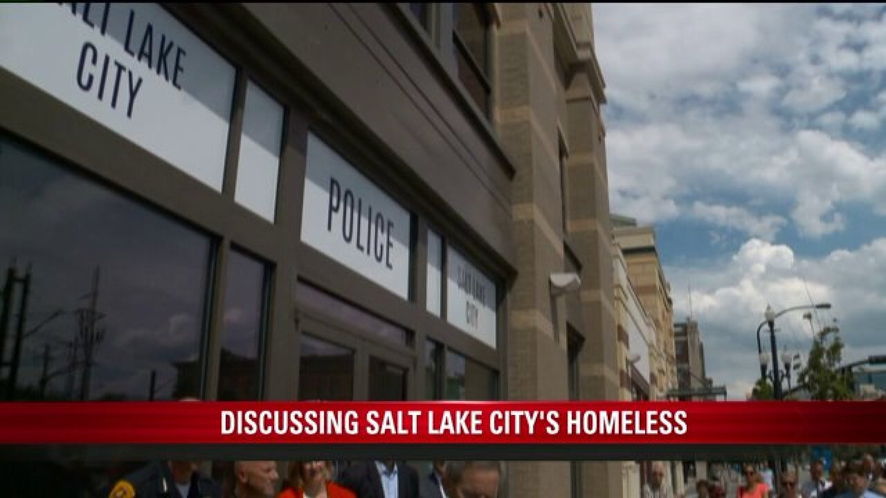 SLC officials work with businesses to build home for homeless