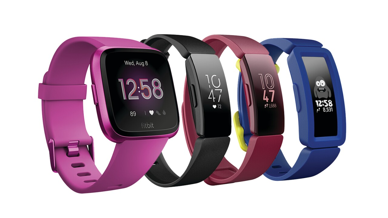 Fitbit launches four new wearables for kids and adults