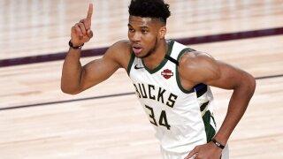 Bucks-Antetokounmpo Basketball