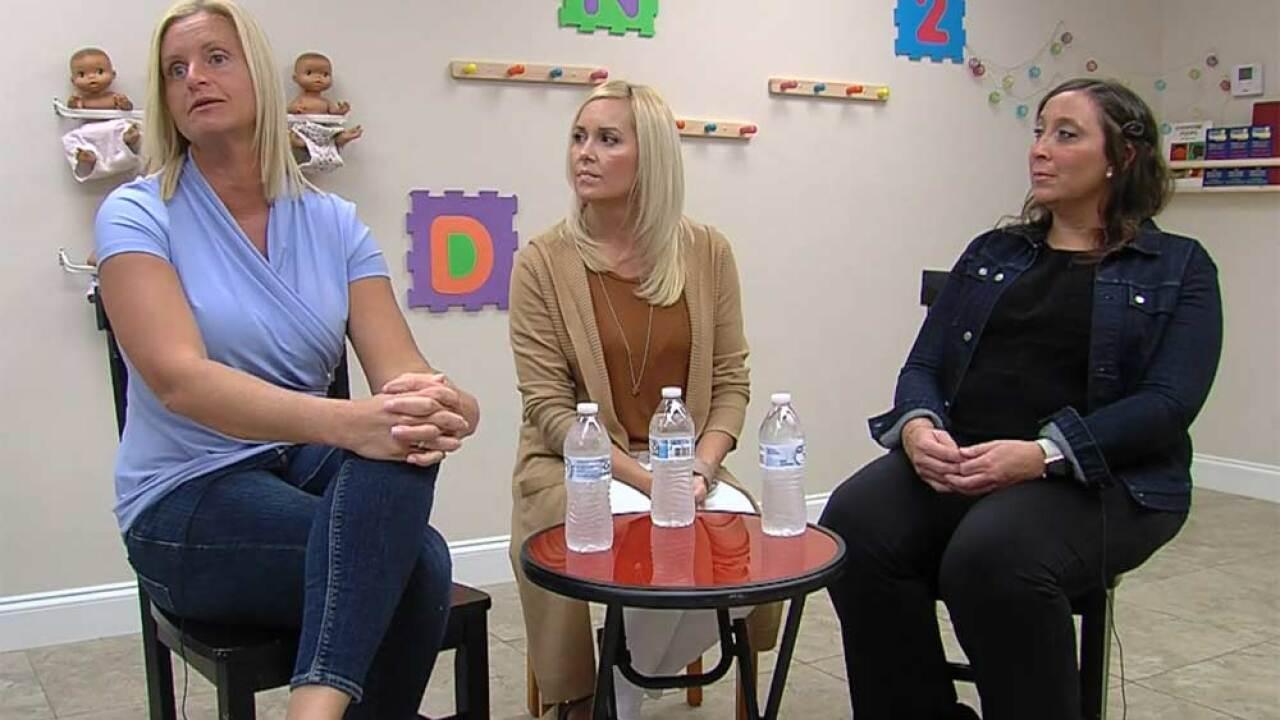 Jennifer Sharpiro (left), Melissa Adam (center), Shannon Visentin