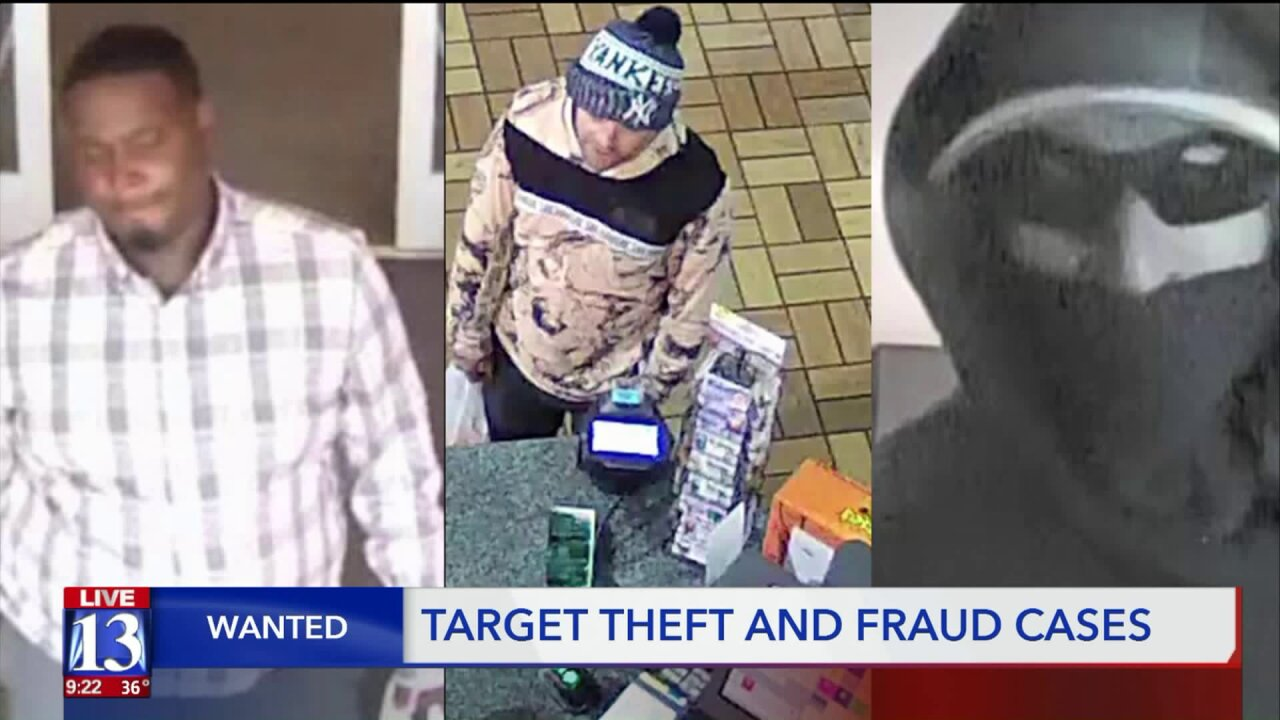Wanted with Scott McKane: ATM, vehicle and Target theft suspects on theloose