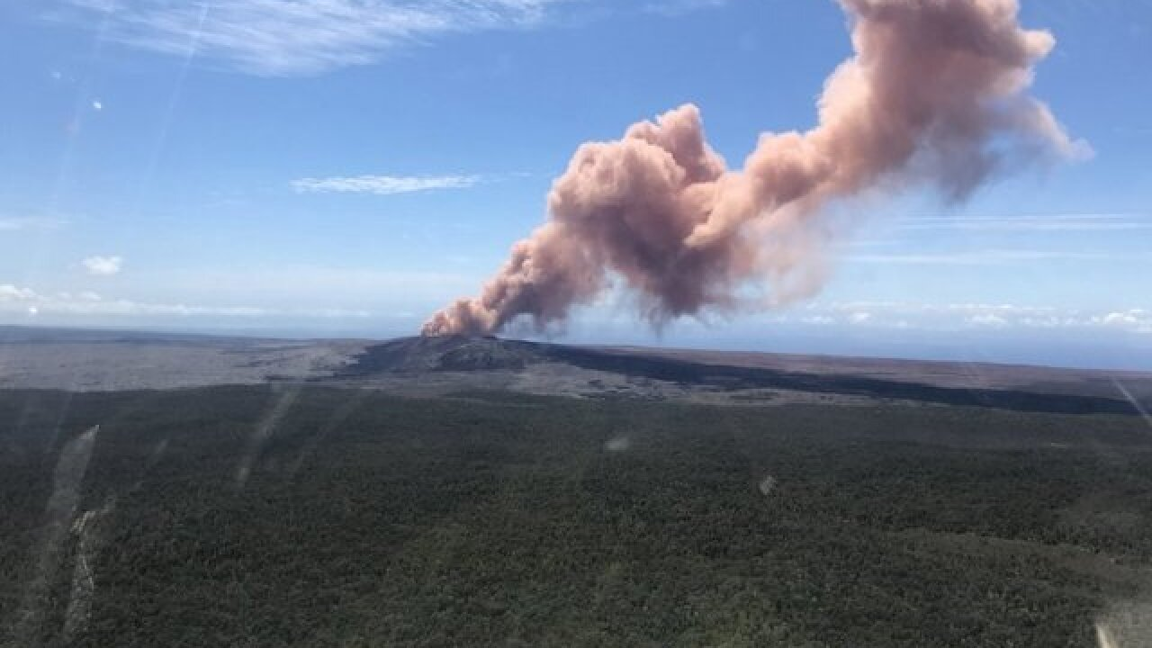 Magnitude 6.9 earthquake strikes off coast of Hawaii as volcano continues to erupt