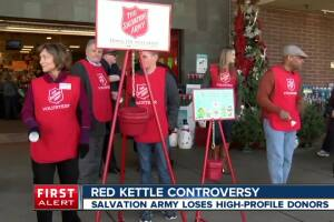 Salvation Army donation debate rages as activist call out charity