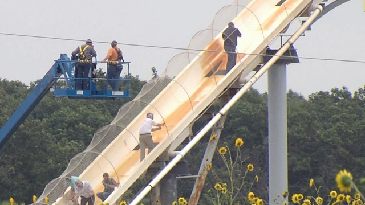 Engineer weighs in on designing water slides