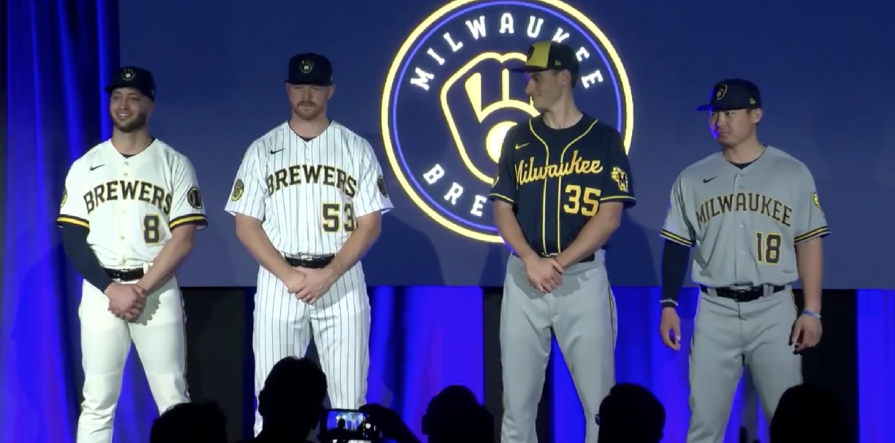 Brewers new uniforms