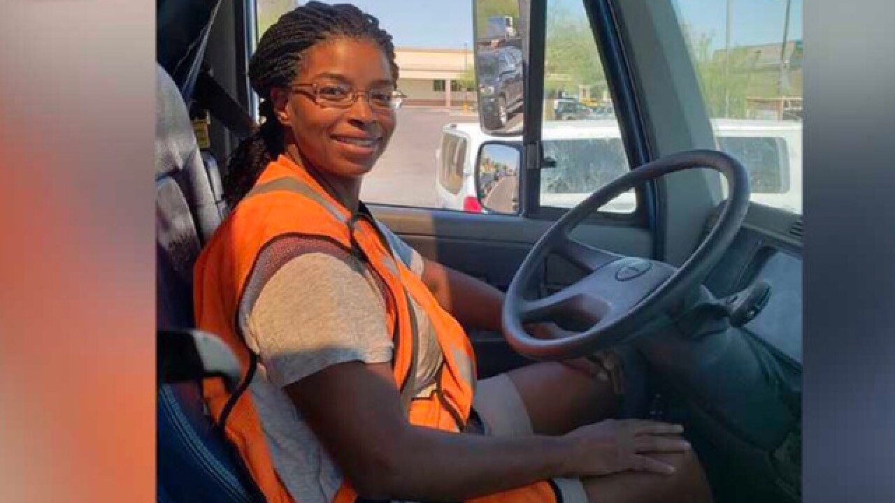 More women getting behind the wheel of big-rigs
