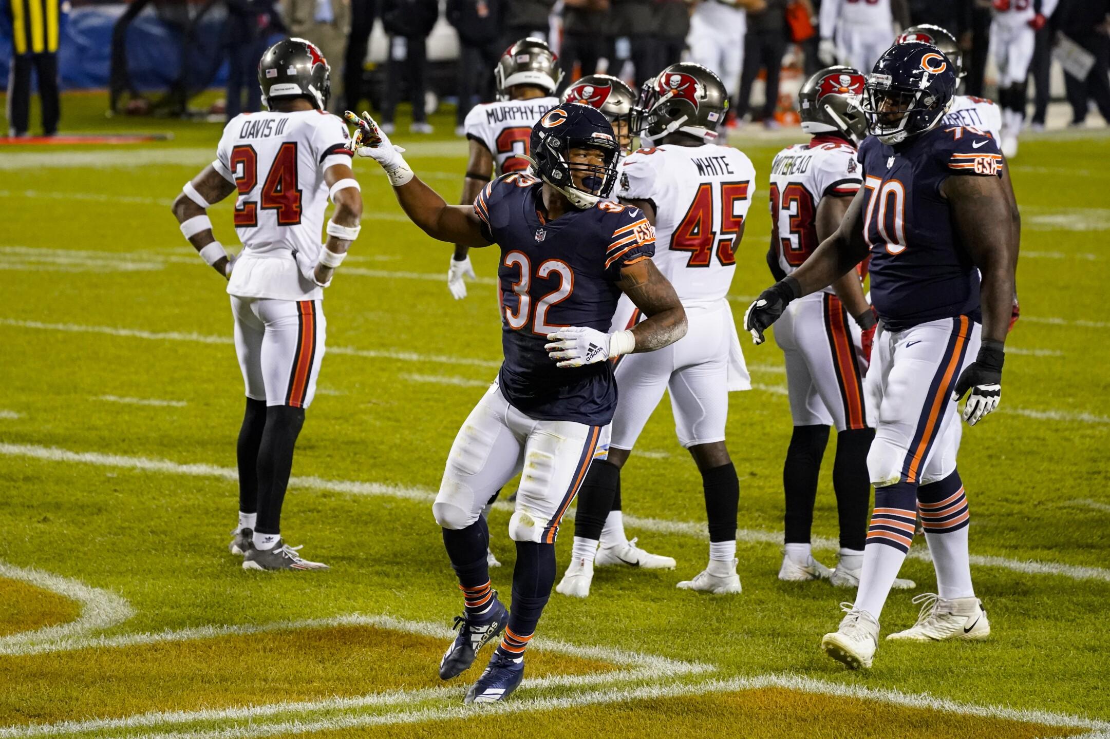 Buccaneers Bears Football