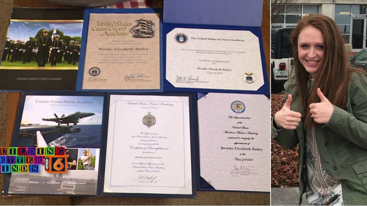 Midlothian graduate accepted to four United States serviceacademies