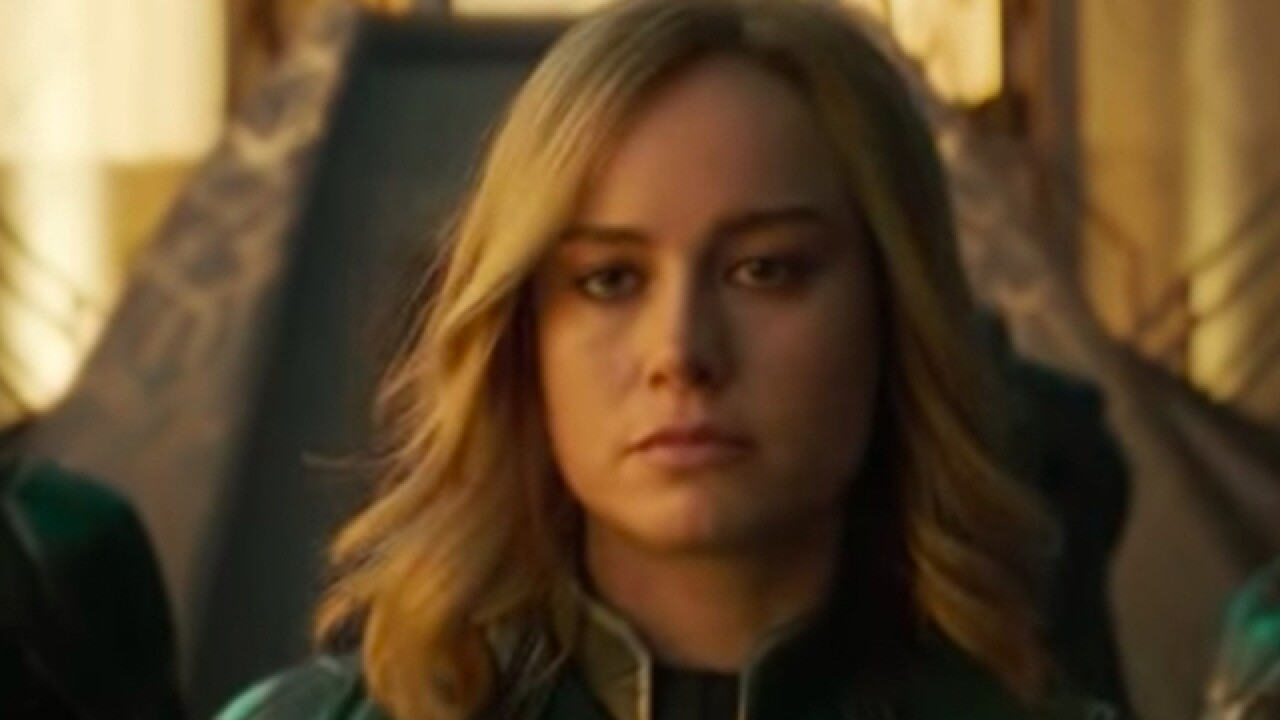'Captain Marvel' trailer released; film will be in theaters March 2019