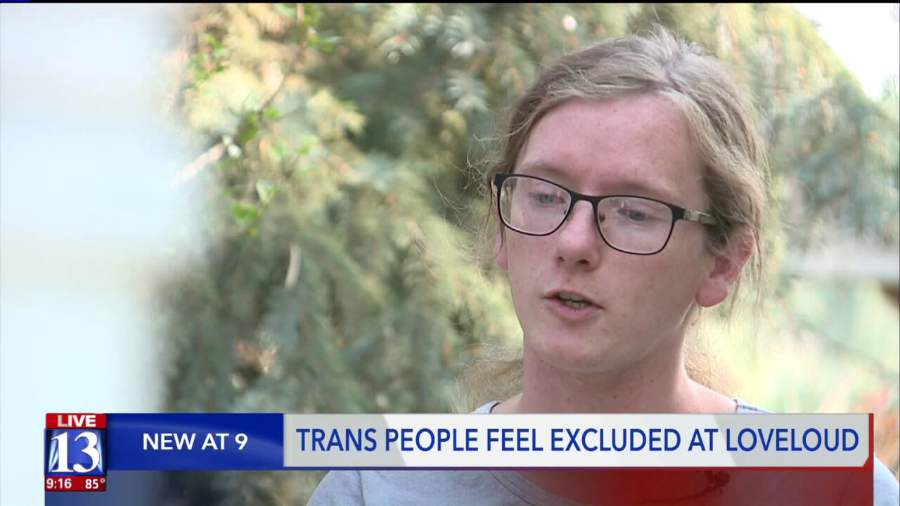 Trans attendees of LoveLoud Festival say they had issues using gender inclusive bathrooms
