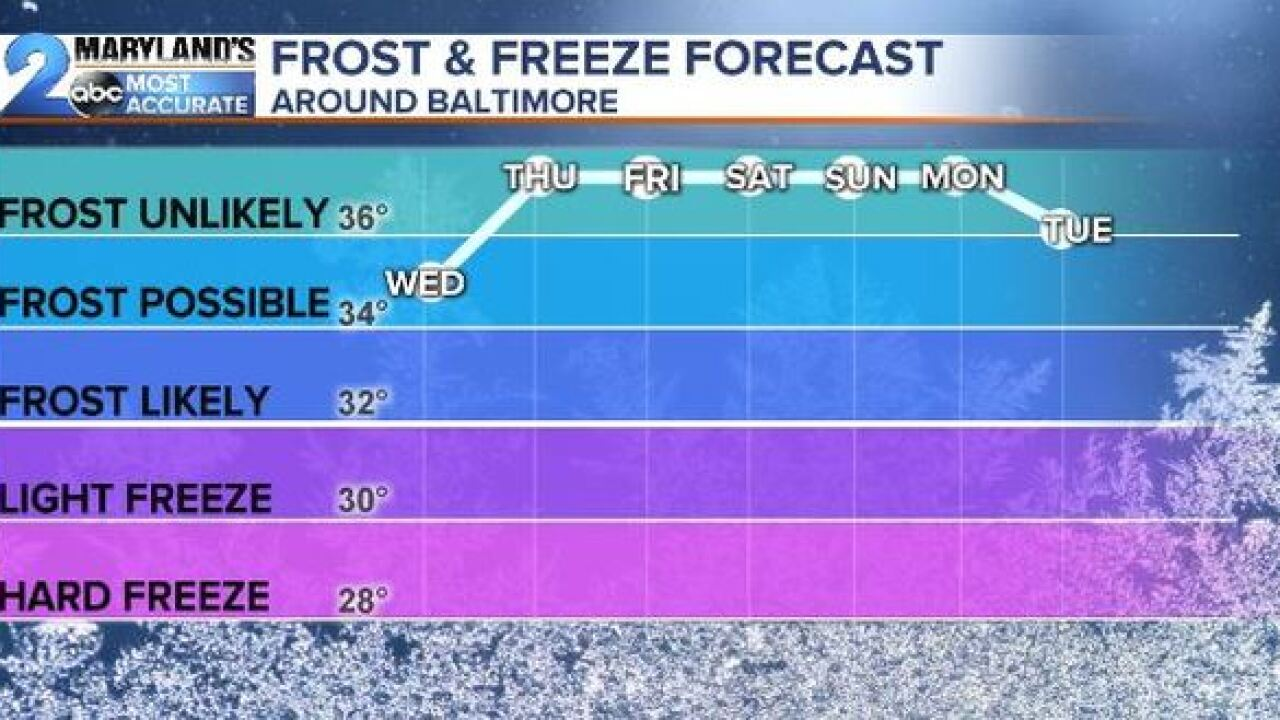 FROSTY CONCERNS-Another Round Of Advisories