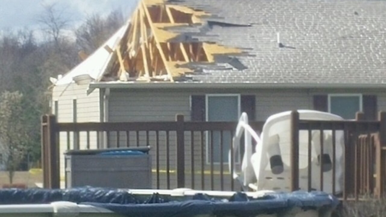 NWS: Tornado hit Clermont County Sunday