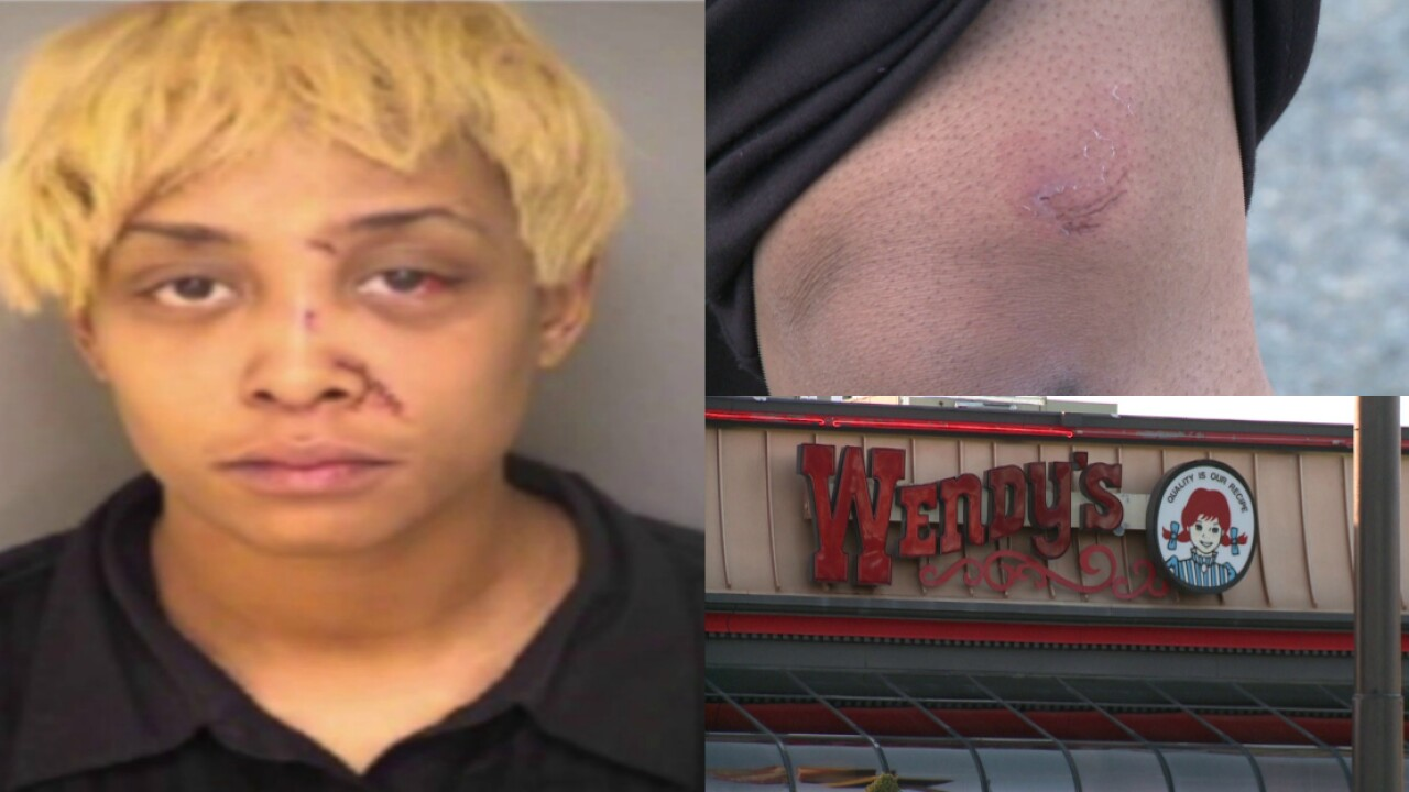 'Hangry' woman arrested for biting Wendy's worker over wrongorder