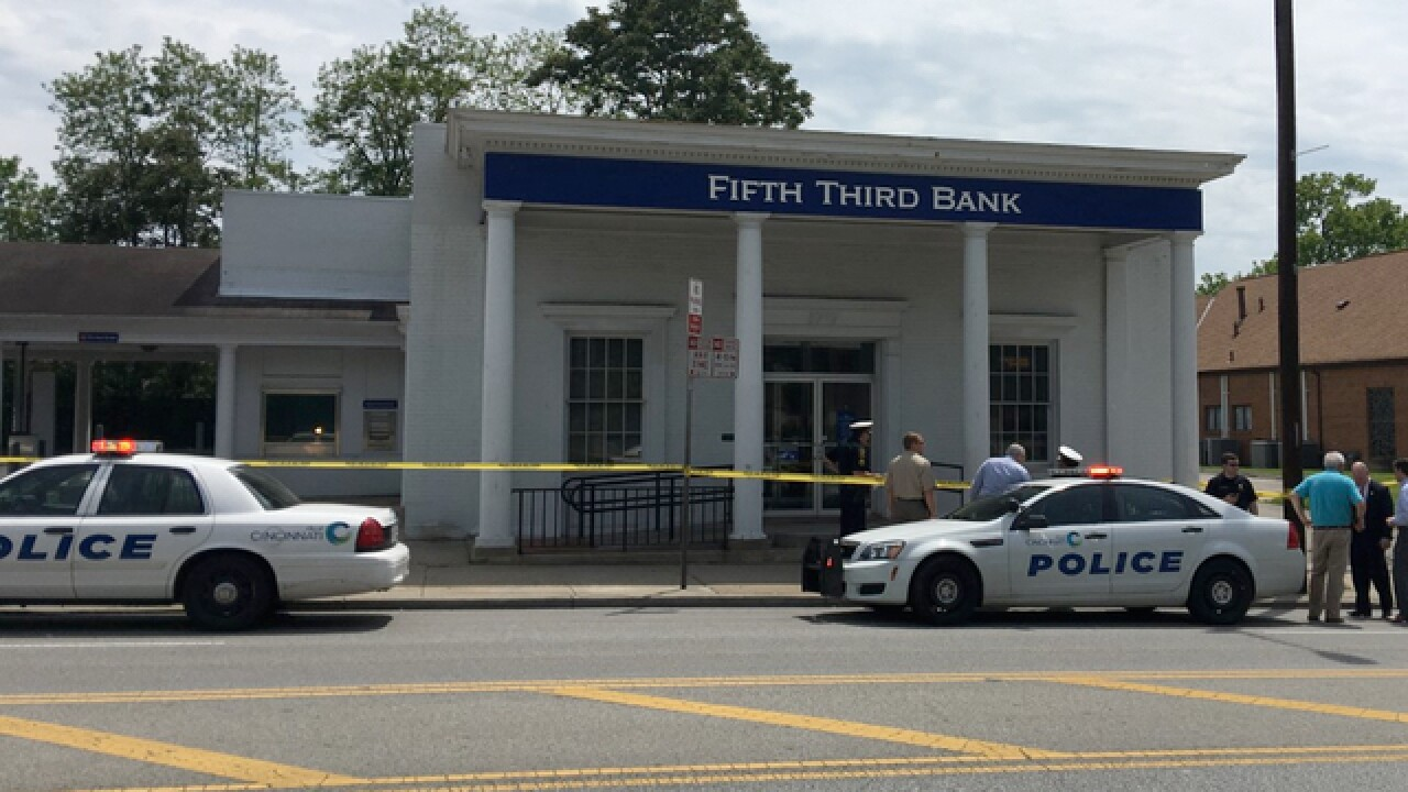 PD: Suspect caught after bank robbery