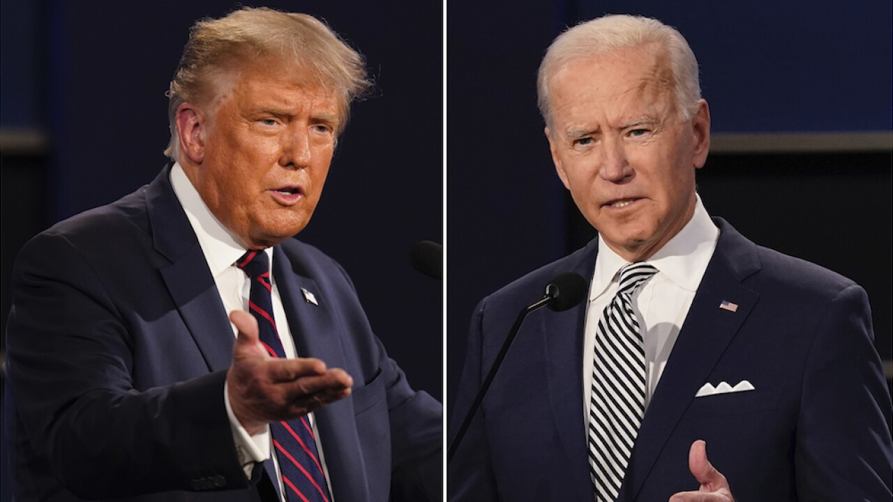 Trump, Biden return to campaign trail after holding competing town hall events