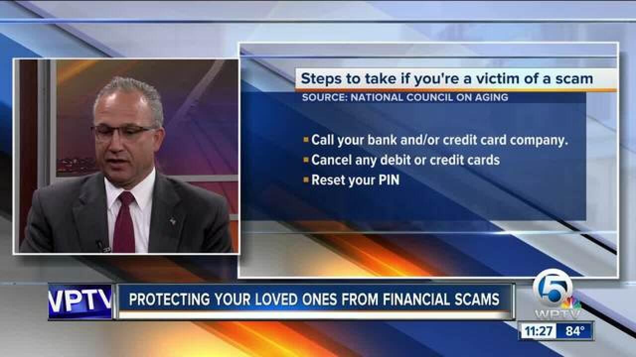 Advice on avoiding financial scams