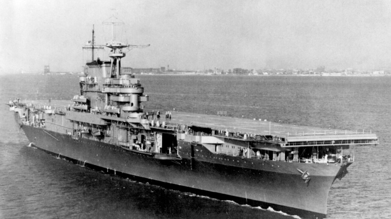 Hampton Roads-built carrier helped turn the tide in WWII, now its wreckage has beenfound