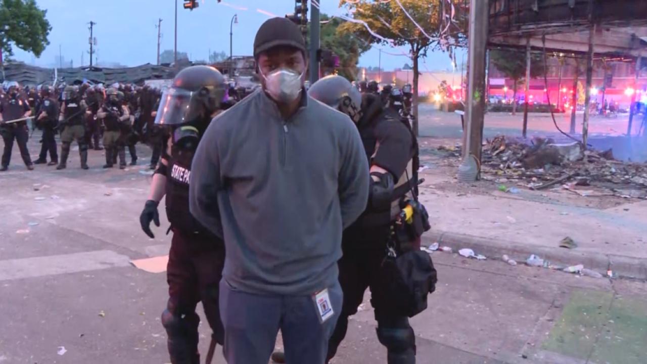 CNN-report-Omar-Jimenez-arrested-in-Minneapolis
