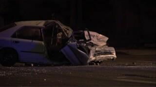 2-car crash near 47th Avenue and Thomas Road