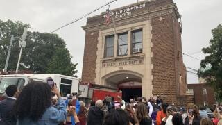 Fire station renamed for Hilton L. Roberts, Sr.